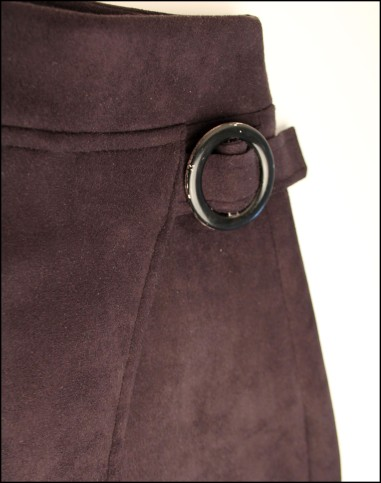 Helens 60s Simplicity 3170 skirt buckle detail